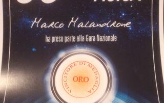 Diploma Marco Melandrone Olimpiadi di Fisica 2016
